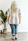 Лятна макси блуза змийски принт