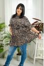 Леопардова макси тениска-туника