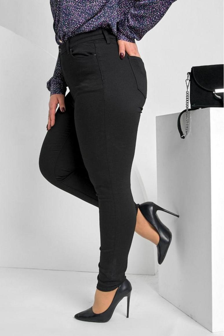 Черни Skinny макси дънки