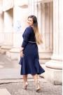 Макси рокля с асиметрична дължина